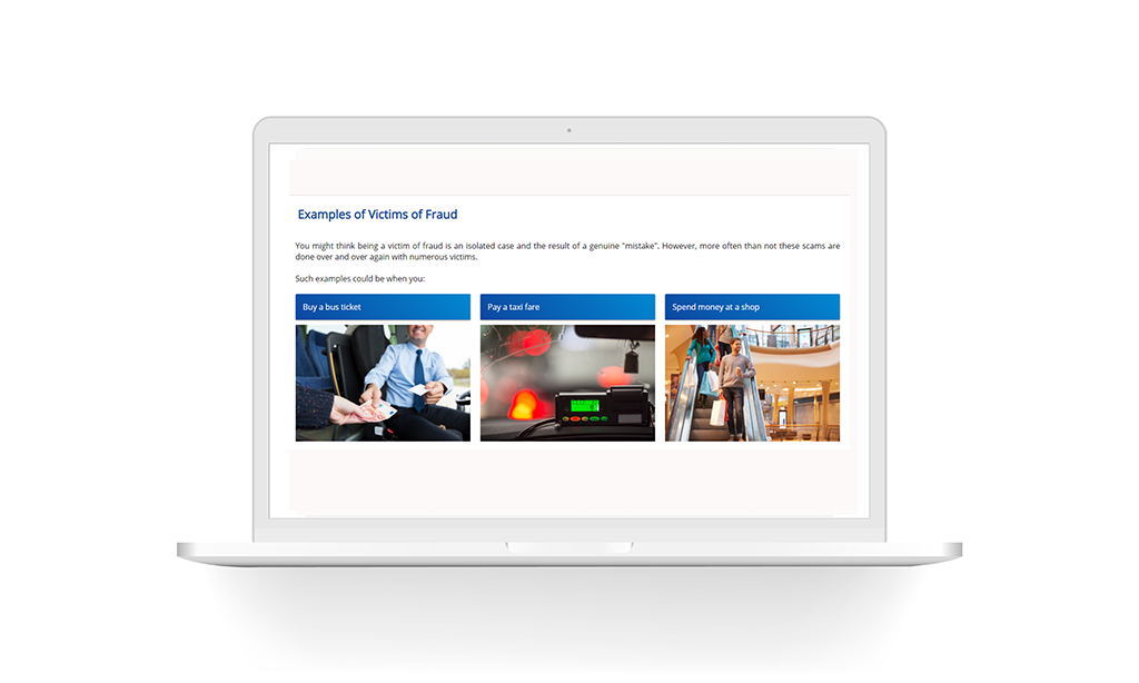 Anti-fraud & Payments handling elearning