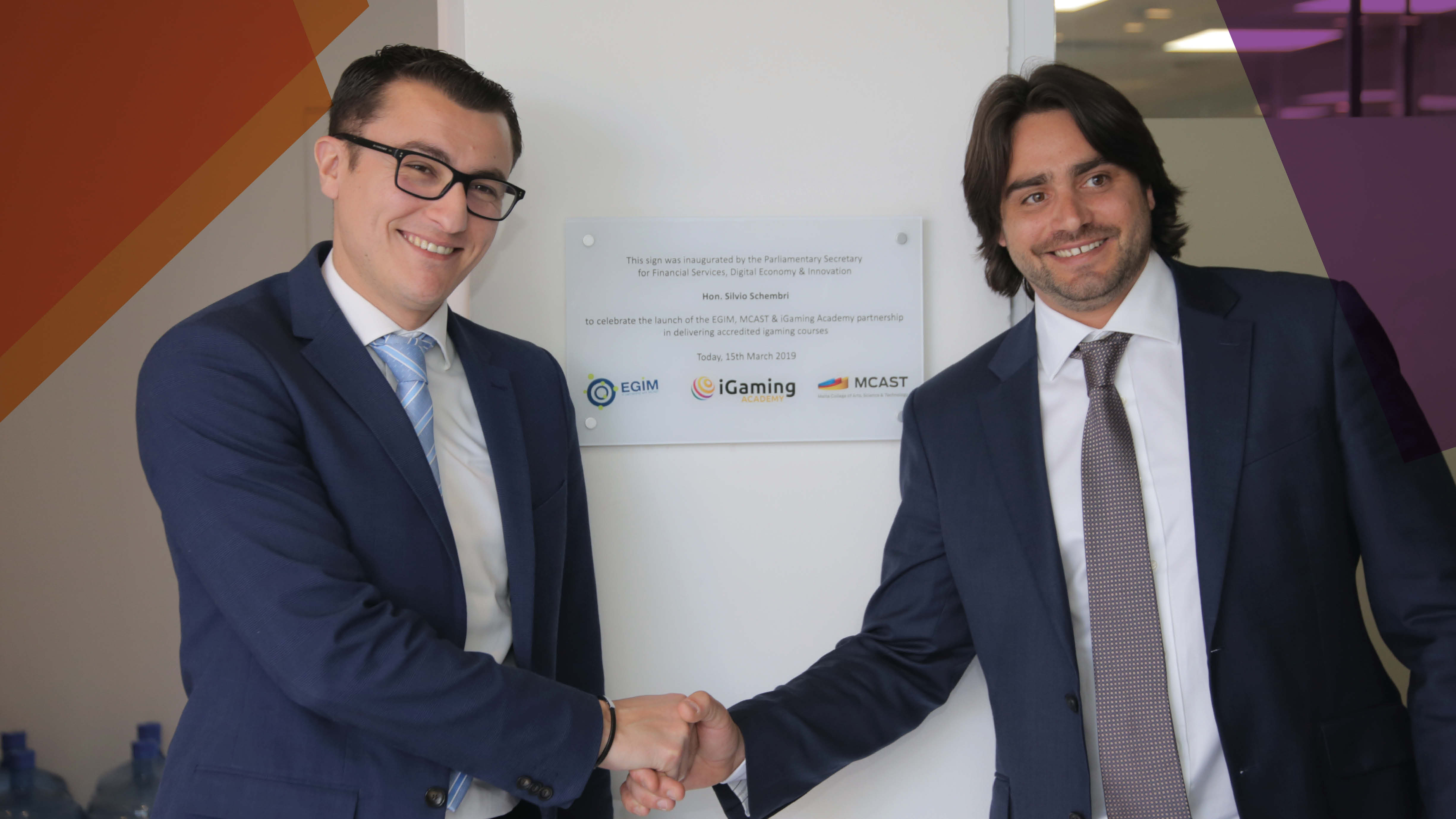 EGIM, MCAST & iGaming Academy Inauguration – Increase in Demand for Award in iGaming Accreditation