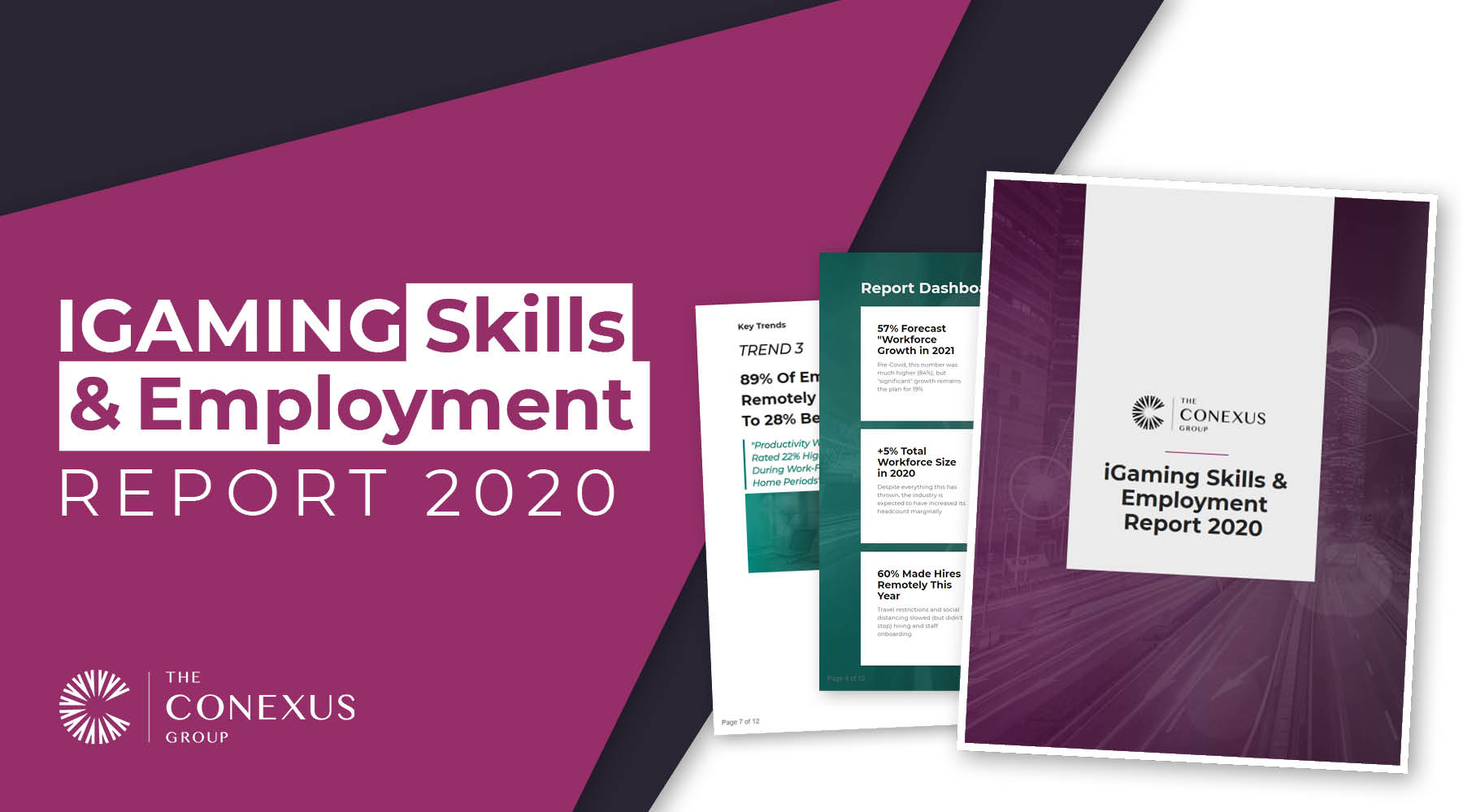 Exclusive: The Conexus iGaming Skills & Employment Report 2020